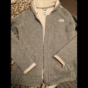 Women's Northface Sweater Jacket